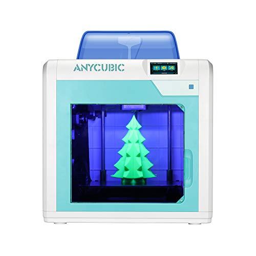 Stampante 3D ANYCUBIC 4Max Pro Dimensioni di stampa 270x205x205mm silenziosa Spegnimento automatico...