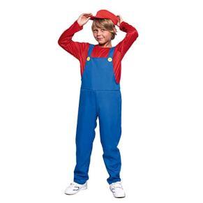 Disfraz Fontanero rojo niño infantil para Carnaval (2-4 años)