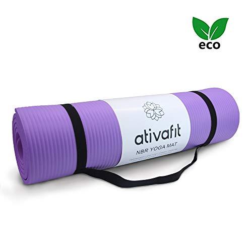 ATIVAFIT Tappetino Grande per Yoga, Allenamento e Pilates, con Imbottitura Ultra Spessa da 183mm *...