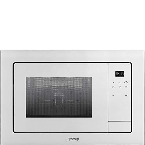 Smeg FMI120B1 Incasso Microonde con grill 21L Bianco forno a microonde