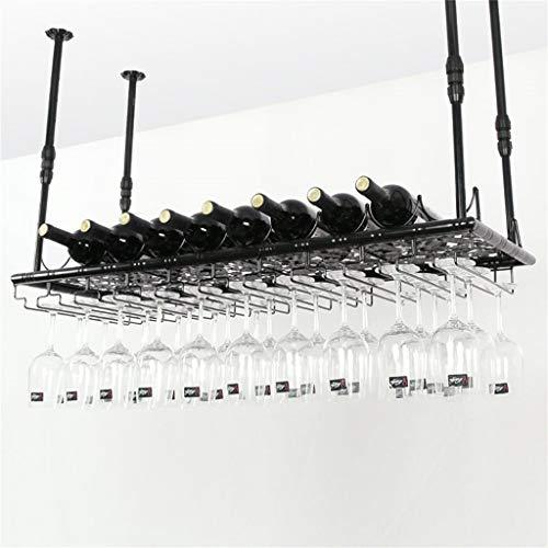 LXDDP Supporto da Muro in Metallo calici Rack Stile Europeo Modello Appeso al soffitto Appeso...
