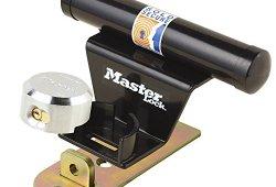 Master Lock 1488EURDAT  Barre de sécurité pour porte de garage basculante avec serrure à clé (antivol pour porte de garage) Meilleure offre de prix
