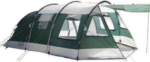 Skandika Tienda de campaña, Zelt Jasper II, Green, 615x400 cm, Verde, 615 x 400 cm