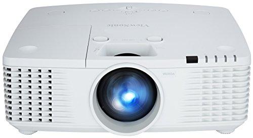 Viewsonic PRO9800WUL Business DLP Projektor (WUXGA, 5.500 ANSI Lumen, HDMI, 2x 7 Watt Lautsprecher, 1.7x optischer Zoom, Lens-Shift) Weiß