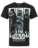 STAR WARS Rogue One Character Panels Men's T-Shirt (XXXL)