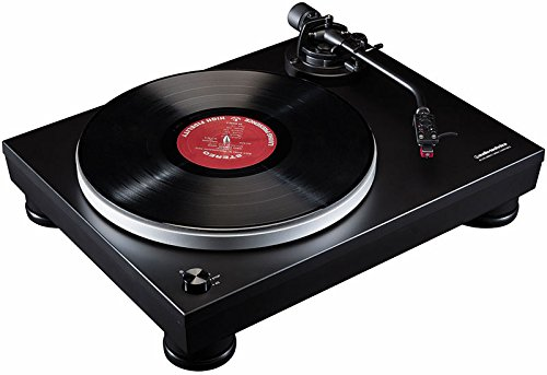 audio technica AT-LP5 Giradischi Manuale, Nero Opaco