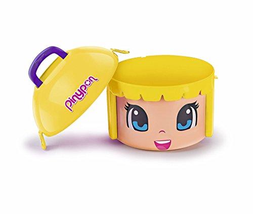 Pinypon- Maxi Box Contenedor, Color Rubia, única (Famosa 700014085)