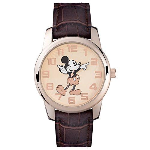 Mickey Mouse Unisex-Uhr Analog Quarz mit Polyurethanarmband - MK1459