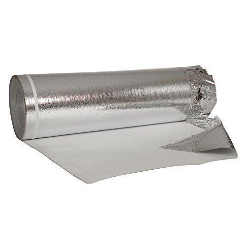 50 m ², isolante acustico con alluminio - Pellicola isolante 2mm potenza per laminato, parquet ECC