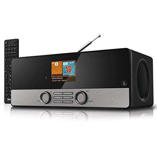 """Hama Internetradio Digitalradio DIR3100MS (Spotify, WLAN/LAN/DAB+/FM, 2,8\"""" Farbdisplay, USB, Weck- und Wifi-Streamingfunktion, Multiroom, Fernbedienung, gratis Radio App) schwarz"""