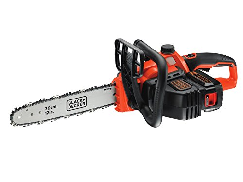 BLACK+DECKER 36 V Lithium-Ion Chainsaw - Our top recommended cordless chainsaw for most people