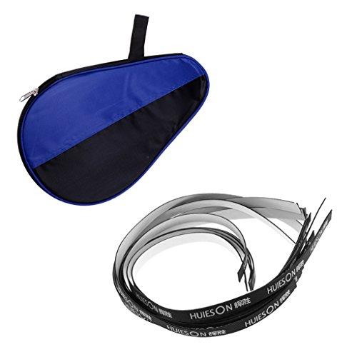 MagiDeal Portaracchette Con Cerniera Nylon Durevole + Nastro Adesivo A Piattaforma Sport Accessori