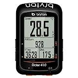 Bryton Rider 410E, Computer GPS Unisex - Adulto, Nero, M