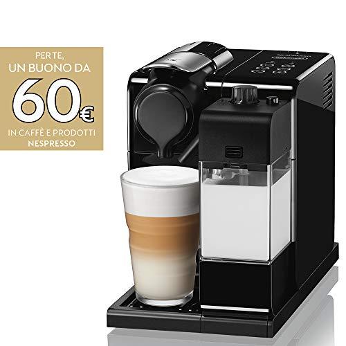 De'Longhi Nespresso Lattissima Touch Animation EN560.B Macchina da caffè, 1400 W, 1 Cups, Plastica,...