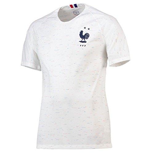 Maillots de Football de France Soccer Jersey 2018 Homeland Extérieur ... aa250b3a0