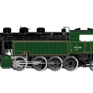 JOUEF HJ2377S SNCF 141 TA 318 Steam Locomotive III (DCC-Sound) 41xRpmFFDaL