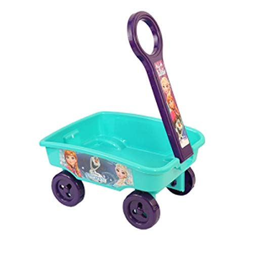 IndusBay My 1st Pull Along Toy Wagon Disney Frozen Theme Toy Storage cart for Kids