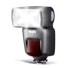 Metz mecablitz 52 AF-1 Digital - Flash para Nikon (Modo Spot-Zoom, giro de 90°), color negro