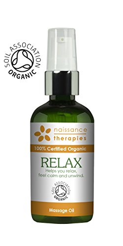 Naissance Huile de Massage Certifiée BIO Relaxation - 100ml - aux Huiles...