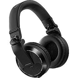 Pioneer HDJ-X7 Negro Circumaural Diadema Auricular - Auriculares (Circumaural, Diadema, Alámbrico, 5-30000 Hz, 1,2 m, Negro)