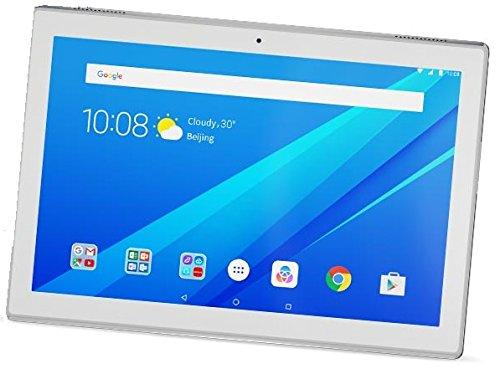 """Lenovo TAB4 10 - Tablet de 10.1"""" IPS/HD (Procesador Qualcomm Snapdragon 425, RAM de 2 GB, memoria interna de 16GB, Android 7.0, Bluetooth 4.0 + Wifi) color blanco"""