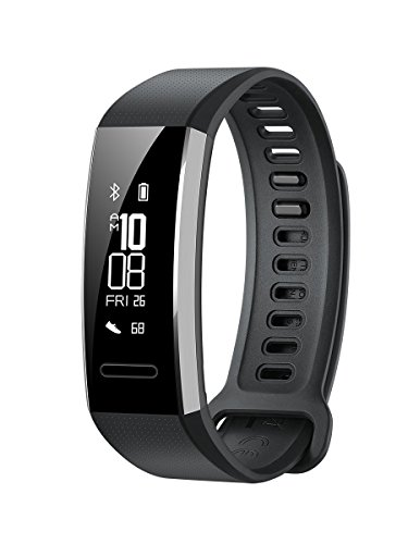HUAWEI Band 2Pro Fitness Bracelet traqueur d'activité –Noir (GPS intégré, jusqu'à 21Jours d'utilisation)