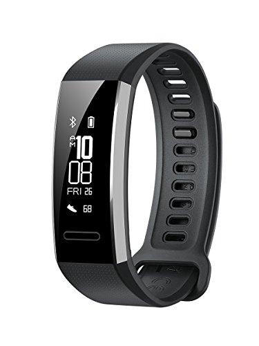 Huawei Band 2 Pro Smartwatch, Display da 0.91', Resistente all'acqua fino a 5 ATM, Nero