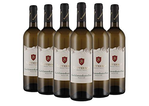 Südtirol - Alto Adige DOC Moscato Giallo box da 6 bottiglie Ritterhof 2018 0,75 L
