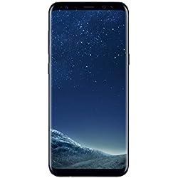"""Samsung Galaxy S8 Smartphone, 4GB RAM, 64GB, 12MP, Android, (Versión española: incluye Samsung Pay, actualizaciones de software y de Bixby, compatibilidad de redes), Negro, 5.8"""""""