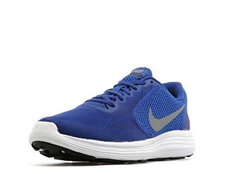 official photos a8ab7 0325d Nike Men s REVOLUTION 3 Blue Running Shoes