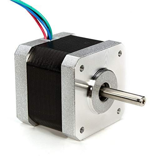 UG LAND INDIA Stepper Motor NEMA 17, 5 Kg Torque Lift 4-Lead 1.8 Deg 40N.cm Holding Torque 1.7A 42 Motor for 3D Printer Hobby CNC Router