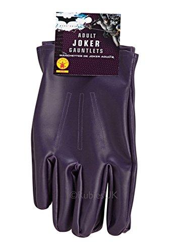 Uomo adulto viola i guanti di Joker