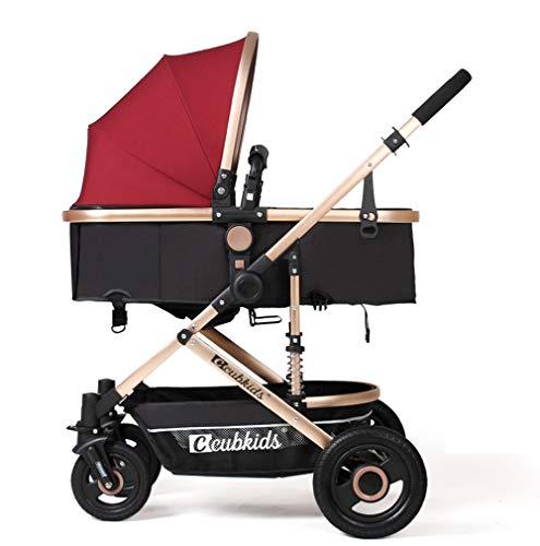 2 in 1 Economici passeggini leggeri a 4 ruote Bambini dall'ombrello parto Passeggini per bambini per...