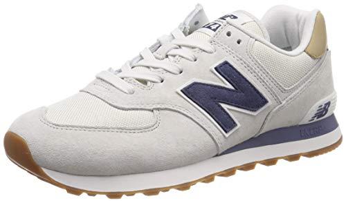 New Balance Herren ML574LGI Sneaker Grau Light Cliff Grey, 45 EU