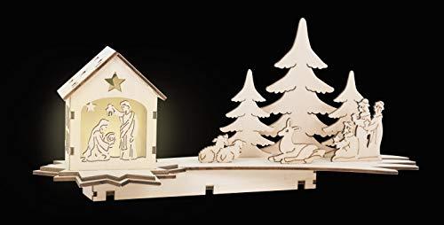 """Lampe""""Crèche de Noël"""""""