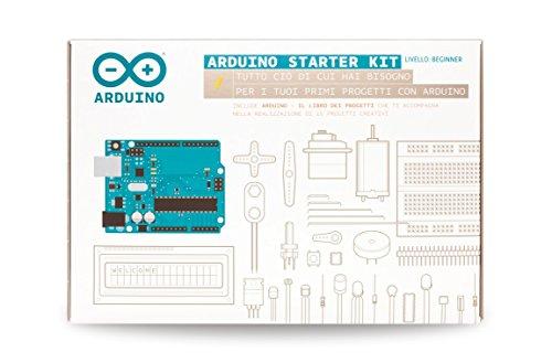 Arduino starter kit originale con libro 15 progetti in italiano questo kit ti guida attraverso le basi di arduino sperimentando, con progetti creativi, costruisci mentre apprendi, grazie ad una selezioneponenti elettronici più comuni e utili...