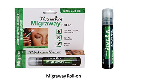 Nutree Pure Migraway Migraine Roll On - 10ml