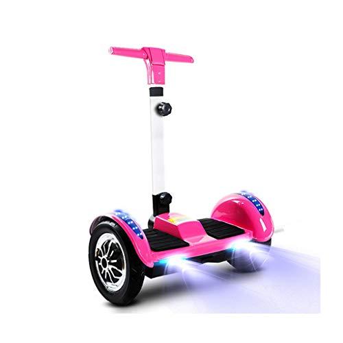 Equilibrio Scooter con Regolazione del Manubrio 10inch off-Road Elettrico Hoverboard con Bluetooth...