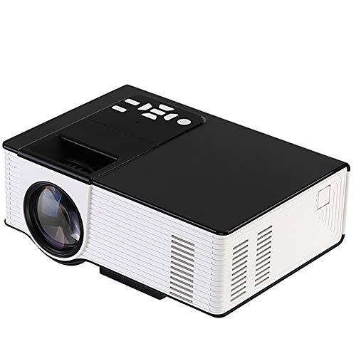 QinLL Mini proiettore, 1500 Lumen proiettore Portatile, con Ideal 180 Pollici Display, 50000 Ore di...