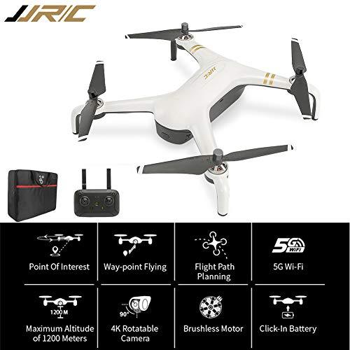 Factorys Drone FPV JJR/C X7P WiFi 5G con Fotocamera HD 1080P, Controllo gesti RC a 2 Assi per Principianti con Mantenimento dell'altitudine, sensore di gravità, decollo/atterraggio con Una Chiave RTF