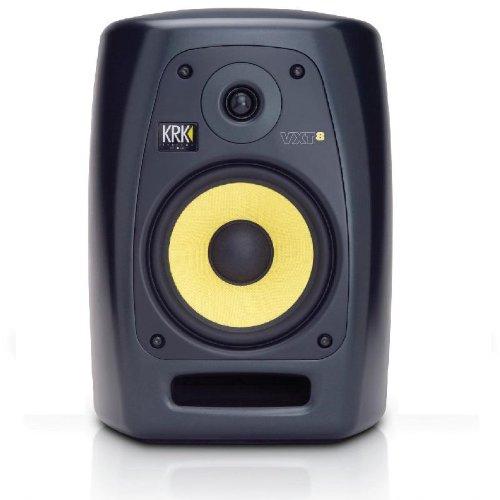 KRK VXT8 - Altavoces (Negro, 100-240 V, 50-60 Hz, Mesa/estante, Montar en la pared, Speaker set unit, A/B)
