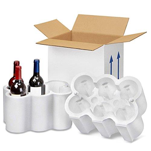 Cantinetta + scatola per sei bottiglie