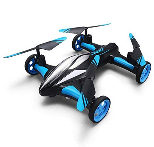 Aria-Terra RC Drone 6-Axis Gyro Flying Car 2.4 GHz 4CH Land/Sky 2 modalità Quadcopter 2 in 1 Toy...