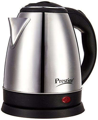 Prestige Electric Kettle PKOSS - 1500watts, Steel (1.5Ltr)