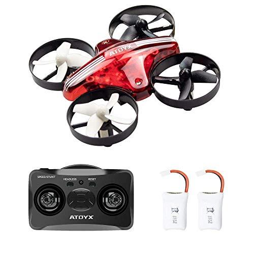 ATOYX AT-66 RC Mini Drone con Telecomando Funzione di Sospensione Altitudine modalità Headless 3...