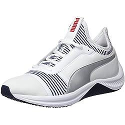 Puma Amp XT Wn's, Chaussures de Fitness Femme, Blanc White-Peacoat 02, 37 EU
