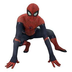 SPIDERMANHTT Spiderman Cosplay Accesorios de película de Halloween Accesorios de disfraces for niños adultos Medias siamesas Traje de escenario Impresión 3D Spandex Lycra (Color : Adult, Size : M)