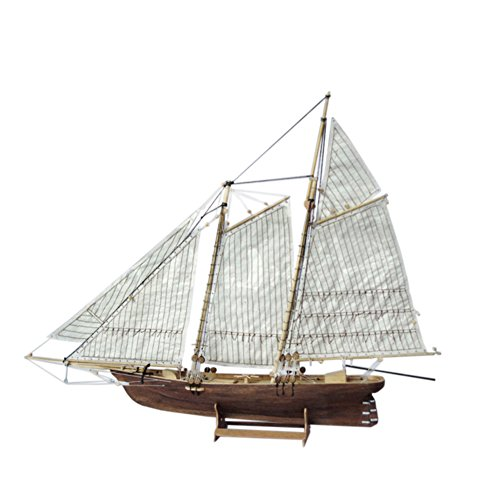 Zantec 3D Veliero,1: 120 Ship Model, diy assemblaggio in legno barca a vela modello,3D puzzle