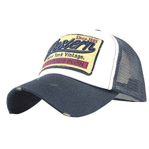ad33bb8e3560 gorras beisbol, Sannysis Gorra para hombre mujer Sombreros de verano gorras  de camionero de Hip Hop Impresión bordada, talla única (Armada)