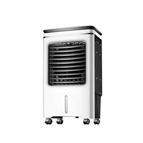 FINLR Aire Acondicionado Portátil Enfriador Móvil Ventilador De Enfriamiento Purificación por Humidificación. 65W-Ahorro De Energía Control Remoto Inteligente Ruedas Universales móvil